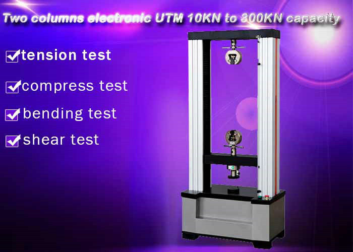 Computer Control Electronic Universal Testing Machine 10KN Two Columns